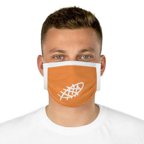Ocean Helper Orange Cotton Face Mask