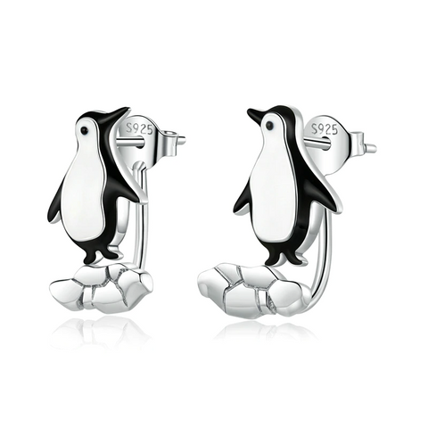 Adélie Penguin Earrings