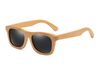 Image of Bamboo Sunglasses - Black Lenses