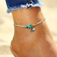 Beach Lover's Ankle Bracelet - OceanHelper