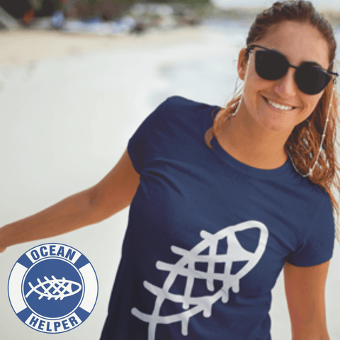 Ocean Helper Ladies' Favorite T-Shirt - OceanHelper