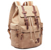 Image of Berchirly Vintage Style Canvas & Leather Backpack - OceanHelper