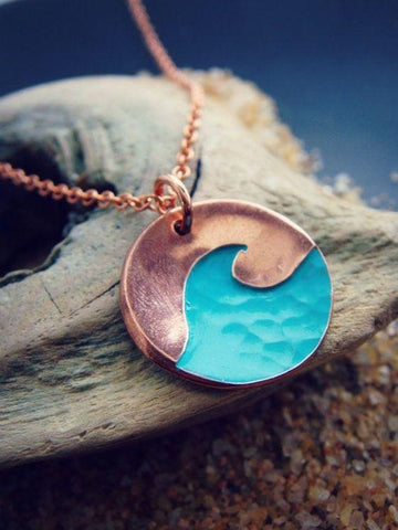 Blue Swell Necklace