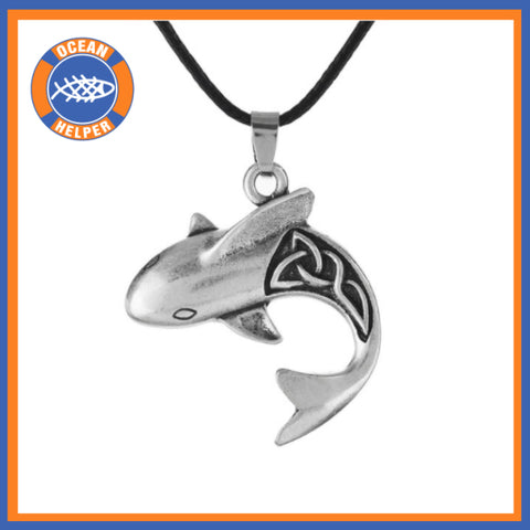 Celtic Shark Necklace - OceanHelper
