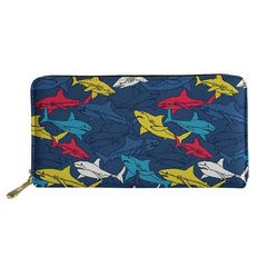 Colorful Ladies Shark Purse