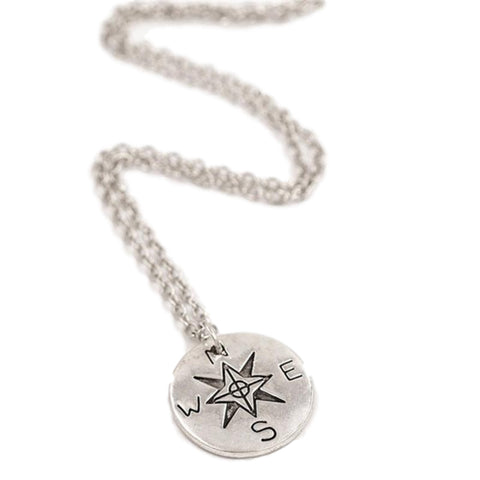 True North Compass Necklace - OceanHelper