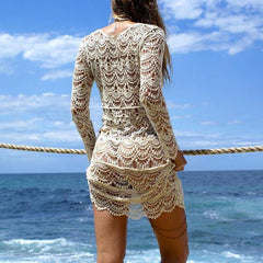 Crochet Beach Dress - OceanHelper