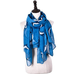 Dolphin Lover Scarf