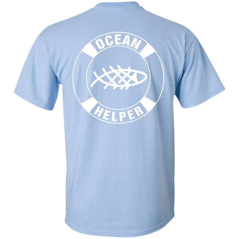 Ocean Helper Ladies' Short Sleeve T-Shirt (Back Printed) - OceanHelper