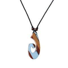 "Enchanted Ocean ""Hei Matau"" Necklace"