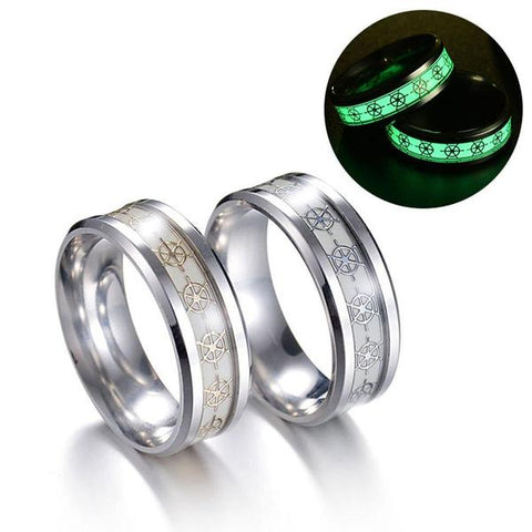 Glow In The Dark Nautical Rings - OceanHelper