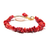 Image of Handmade Coral Inspired Beach Bracelet
