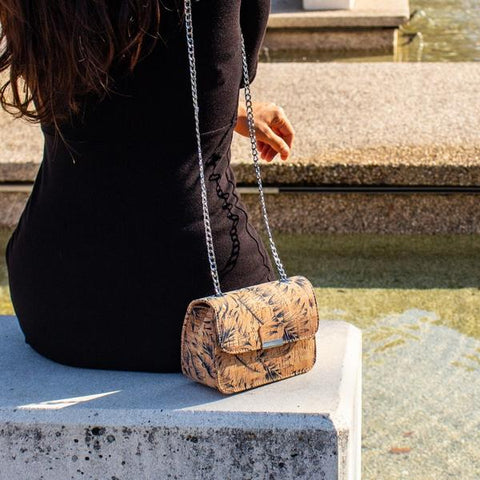 Luxury Cork Handbag - OceanHelper