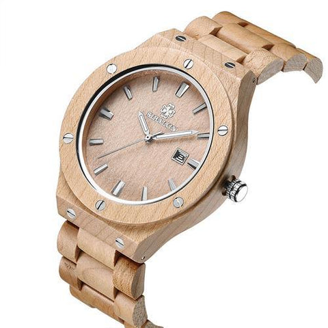 Ladies Natural Light Sandalwood Watch - OceanHelper