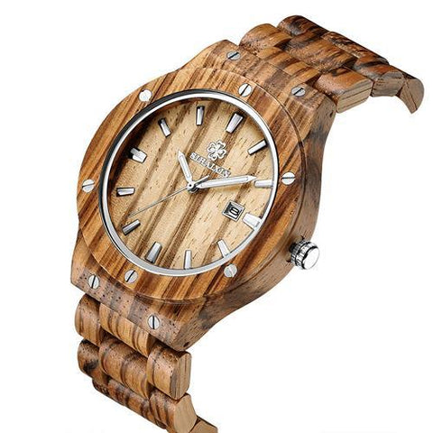 Men's Natural Sandalwood Watch - OceanHelper
