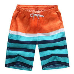 Men's Quick Dry Nautical Swim Shorts