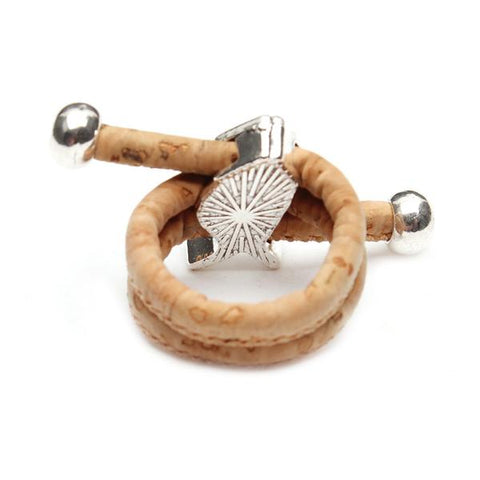 Natural Vegan Cork Fish Ring - OceanHelper