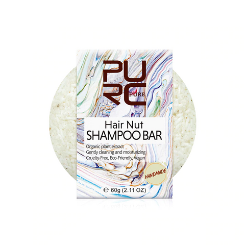 Natural Nut Shampoo Bar - OceanHelper