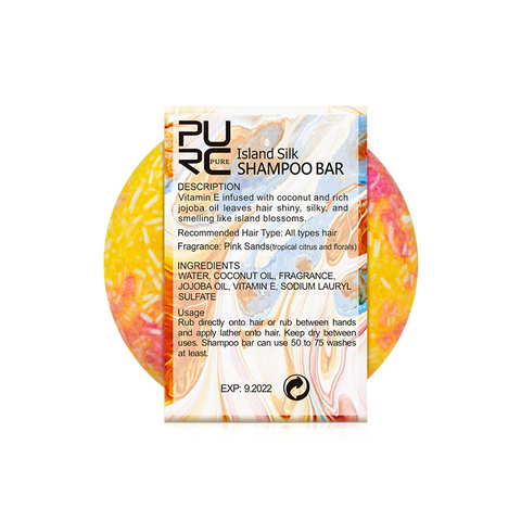 Natural Island Silk Shampoo Bar - OceanHelper