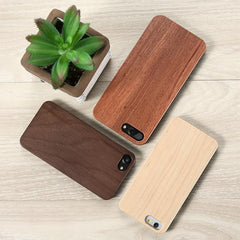 Natural Wood Phone Case - OceanHelper