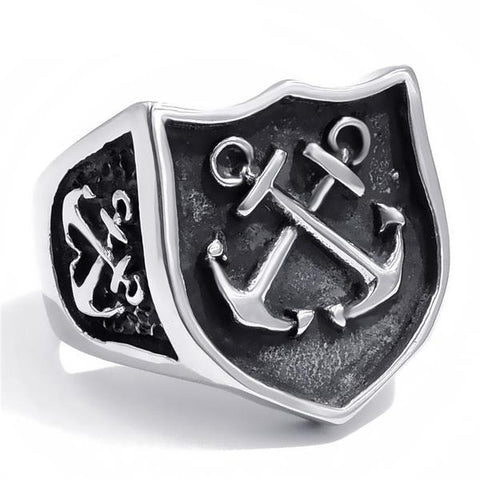 Nautical Anchor Ring - OceanHelper
