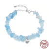 Image of Ocean Blue Crystal Bracelet