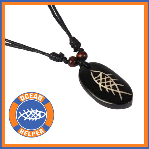 Original Ocean Helper Surf Necklace