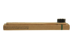 Bamboo Eco Toothbrushes Infused with Charcoal (Family Packs) - OceanHelper