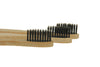 Image of Bamboo Eco Toothbrushes Infused with Charcoal (Jumbo Pack 12) - OceanHelper