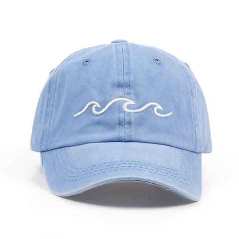Ocean Wave Baseball Cap - OceanHelper