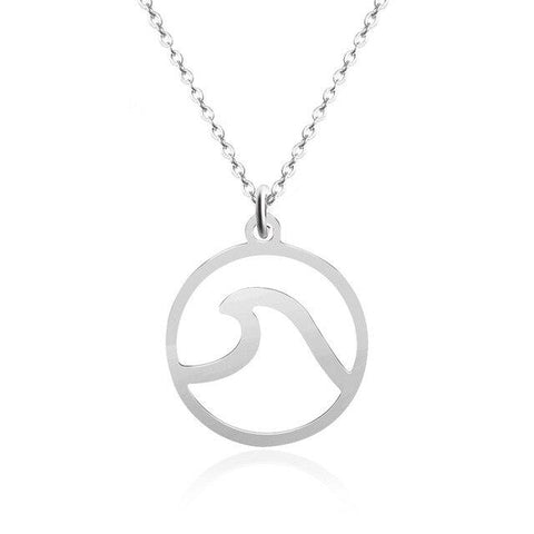 True Ocean Wave Necklace - OceanHelper