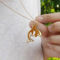 Orca Awareness Necklace