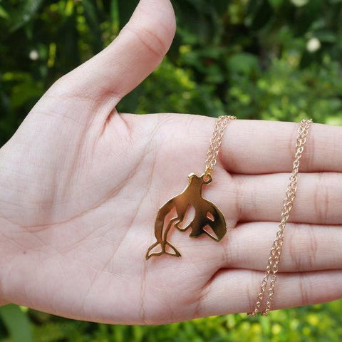 Orca Awareness Necklace - OceanHelper