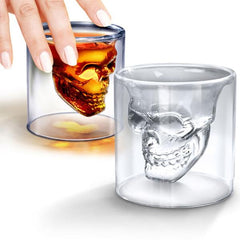 Image of Pirate Skull Shot Glass