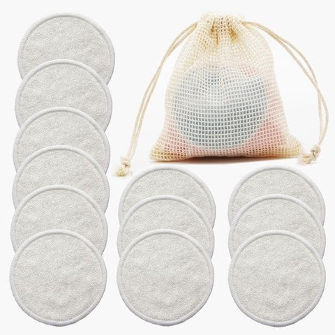 Reusable Bamboo & Cotton Face Wipes