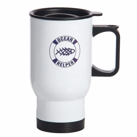 Reusable Ocean Helper Travel Mug - OceanHelper