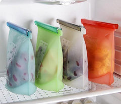 Reusable Silicone Ziplock Food Bags - OceanHelper