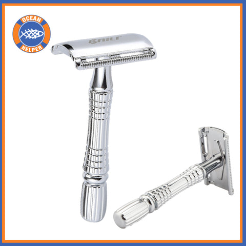 Double Edge Chrome Safety Razor