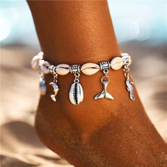 Sea Life Ankle Bracelet