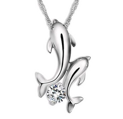 Dolphin Necklace - OceanHelper