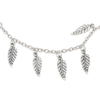 Image of Silver Leaf Beach Anklet - OceanHelper