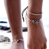 Image of Silver Starfish Anklet - OceanHelper