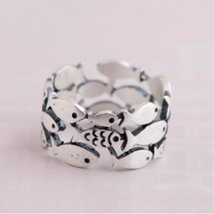 Ladies Shoal of Fish Ring