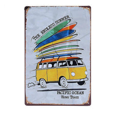 The Endless Summer Tin Sign