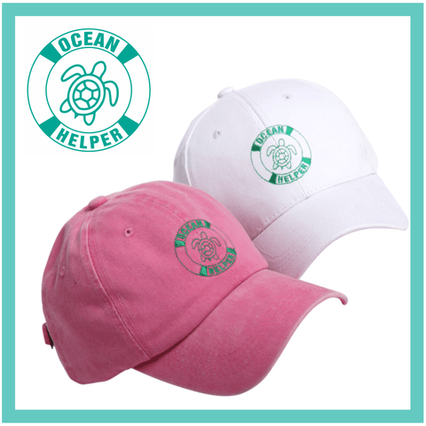 Turtle Rescue Baseball Cap - Half Price Multipack - OceanHelper