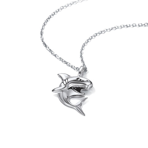 Top Shark Necklace - OceanHelper