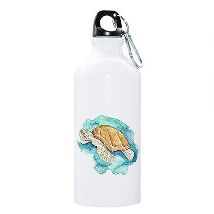 Watercolour Sea Turtle Water Bottle