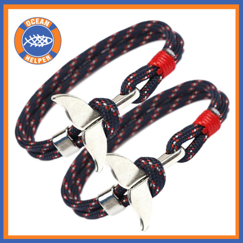 Whale Tail Rope Bracelets Multipacks