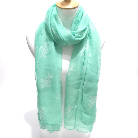 Turtle Rescue Scarf - OceanHelper
