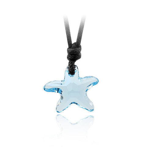 Crystal Starfish Necklace - OceanHelper